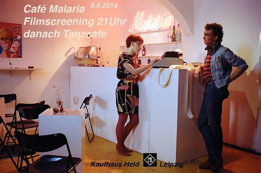 Cafe Malaria Screening Kaufhaus Held Leipzig